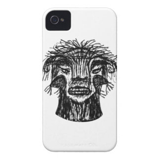 Fantasie-Monster-Hauptzeichnen Case-Mate iPhone 4 Hüllen