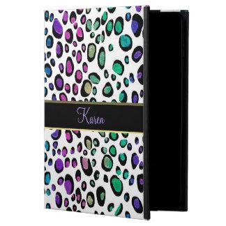 Fantasie-Regenbogen-Glitter-Leopard-Druck iPad