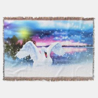Fantasie-Schwan Decke