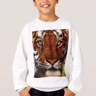 Fantasie-Tiger-große Katzen-wild lebende Tiere Sweatshirt