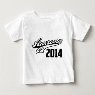 Fantastisch seit 2014 baby t-shirt
