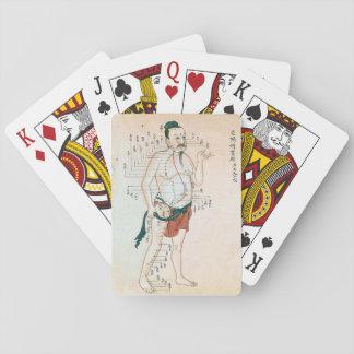 """""""Fantastische alte Akupunktur-"""" Spielkarten"""