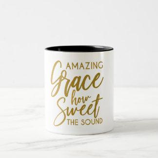 Fantastische Anmut, wie süß der solide geistige Zweifarbige Tasse