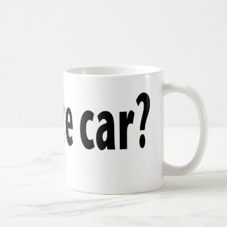 Fantastische erhaltene Rennen-Auto-Tasse Tasse