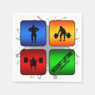 Fantastische Gewichts-Anhebenstädtische Art Serviette