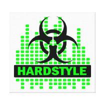 Fantastische Hardstyle Biogefährdung-Leinwand Galerie Faltleinwand