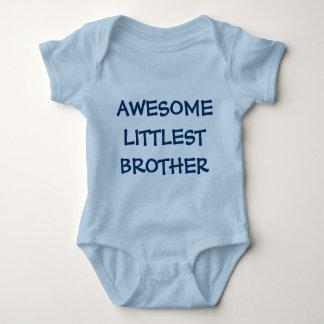 FANTASTISCHE KLEINSTER BRUDER blaues Baby Strampler