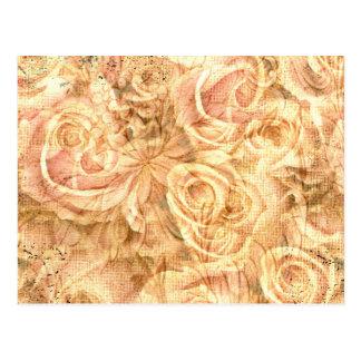 Fantastische Rosen, Vintag Postkarte