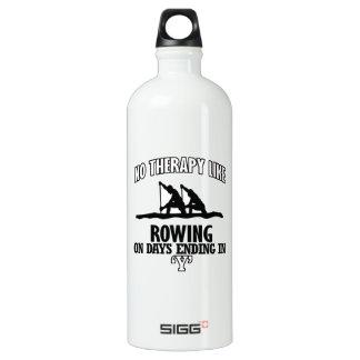 Fantastische Rudersport ENTWÜRFE Aluminiumwasserflasche
