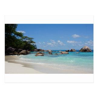 fantastische Seychellen Postkarte