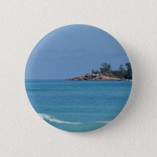 fantastische Seychellen Runder Button 5,7 Cm