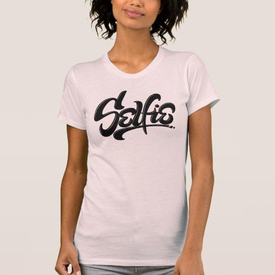 Fantastische SkateboardGraffiti Selfie T-Shirt