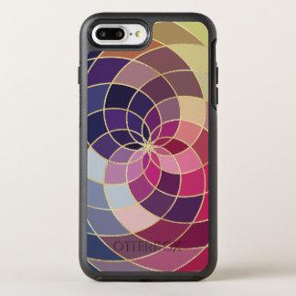 Fantastischer bunter abstrakter Entwurf OtterBox Symmetry iPhone 7 Plus Hülle