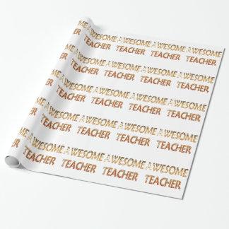 Fantastischer Lehrer Geschenkpapier