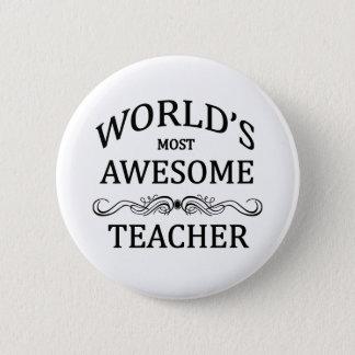 Fantastischer Lehrer Runder Button 5,7 Cm