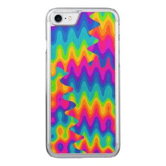 Fantastischer saurer Regenbogen Carved iPhone 8/7 Hülle