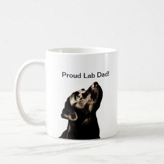 Fantastischer schwarzer Labrador-Retriever Kaffeetasse