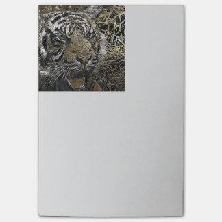 Fantastischer Tiger Post-it Klebezettel