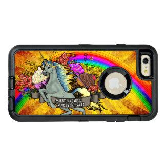 Fantastischer Überlastungs-Unicorn, Regenbogen u. OtterBox iPhone 6/6s Plus Hülle