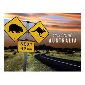 fantastisches Australien Postkarte