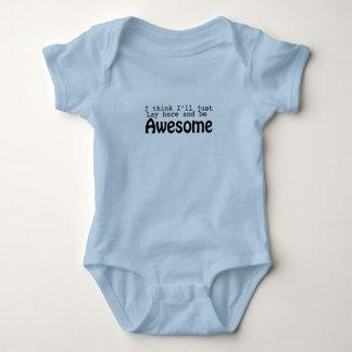 Fantastisches Baby onsie Baby Strampler