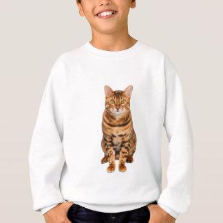 Fantastisches bengalisches Kätzchen Sweatshirt