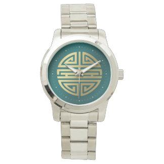 Fantastisches chinesisches Schriftzeichen der Uhr