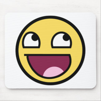 Fantastisches Gesicht ist fantastisches Mousepad