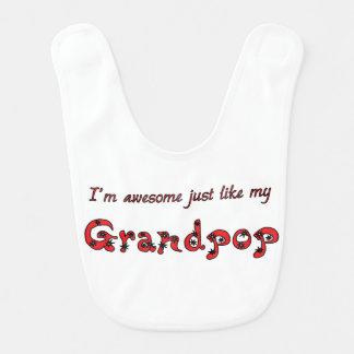 Fantastisches Grandpop Babylätzchen