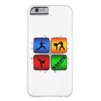 Fantastisches Karate-städtische Art Barely There iPhone 6 Hülle