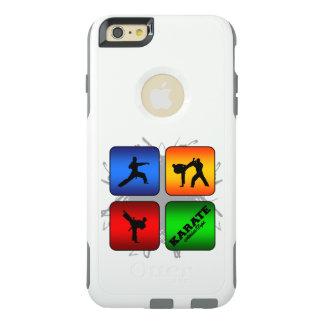 Fantastisches Karate-städtische Art OtterBox iPhone 6/6s Plus Hülle