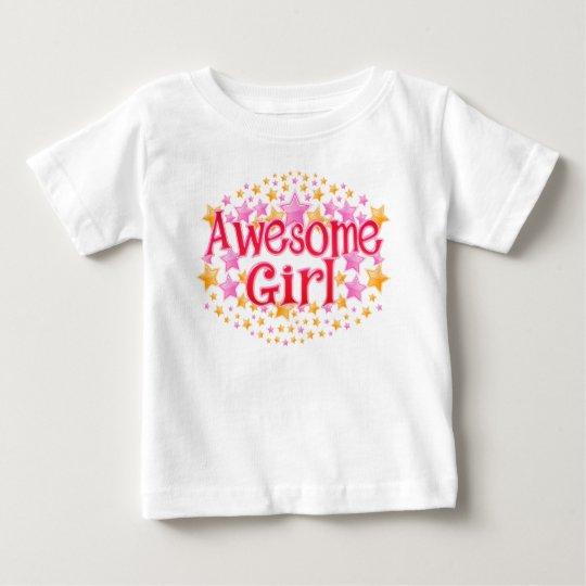Fantastisches Mädchen Baby T-shirt