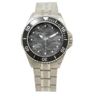 Fantastisches schwarzes Armee-NO3 Armbanduhr