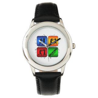 Fantastisches Verpacken-städtische Art Armbanduhr