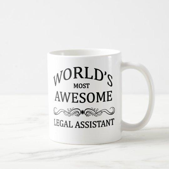 Fantastischste legale Assistent der Welt der Kaffeetasse