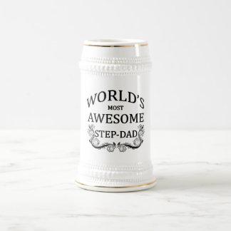 Fantastischste Schritt-Vati der Welt der Bierglas