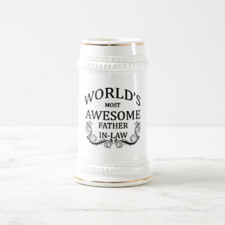Fantastischste Schwiegervater der Welt der Bierglas