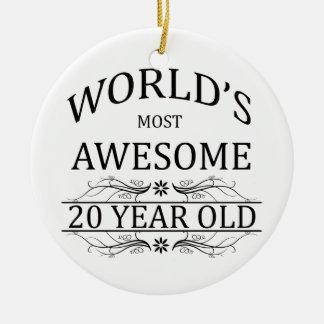 Fantastischsten 20 Jährigen der Welt die Keramik Ornament