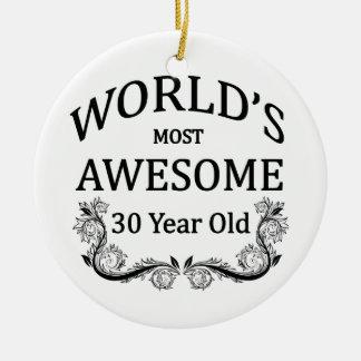 Fantastischsten 30 Jährigen der Welt die Keramik Ornament