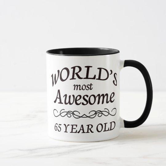 Fantastischsten 65 Jährigen der Welt die Tasse