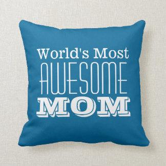 FANTASTISCHSTER Entwurf der Mamma-Text der Welt Kissen