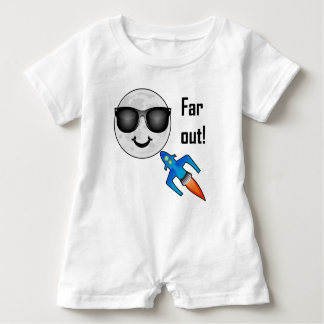 Far Out Design - Baby Romper
