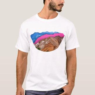 Farbband-Berge T-Shirt