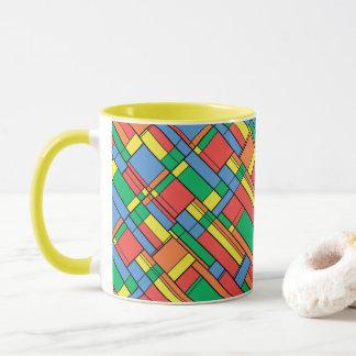 Farbblöcke Tasse