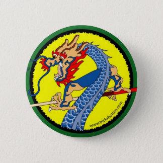 Farbdrache-Knopf Runder Button 5,1 Cm