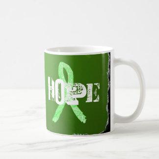 Farbe, Leiter, Hoffnung Lyme Kaffeetasse