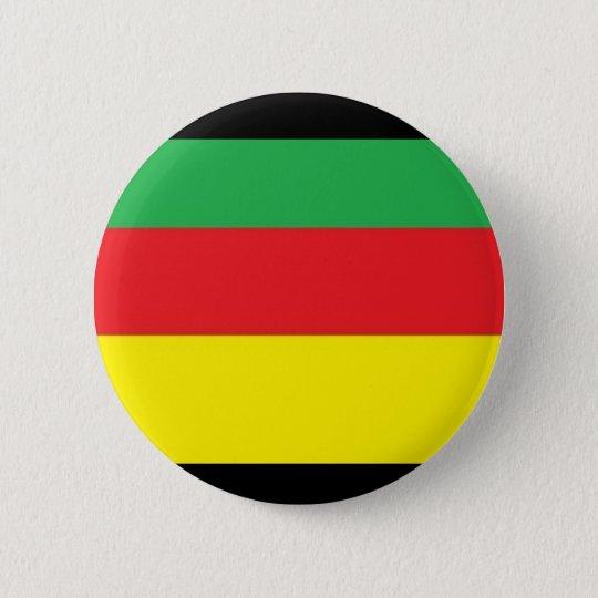 farbe plattiert rasta runder button 5,1 cm