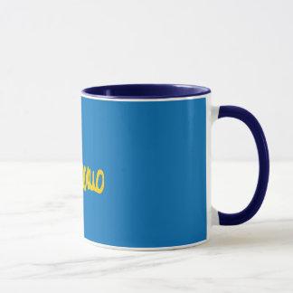 Farbe zerteilt tasse