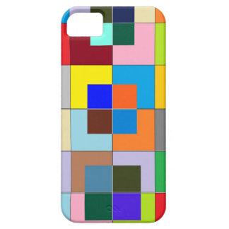 FARBElabyrinth: Glückliche Grafiken Barely There iPhone 5 Hülle