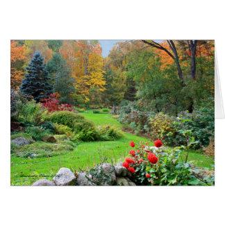 Farben des Geistes: New Hampshire-Garten Karte
